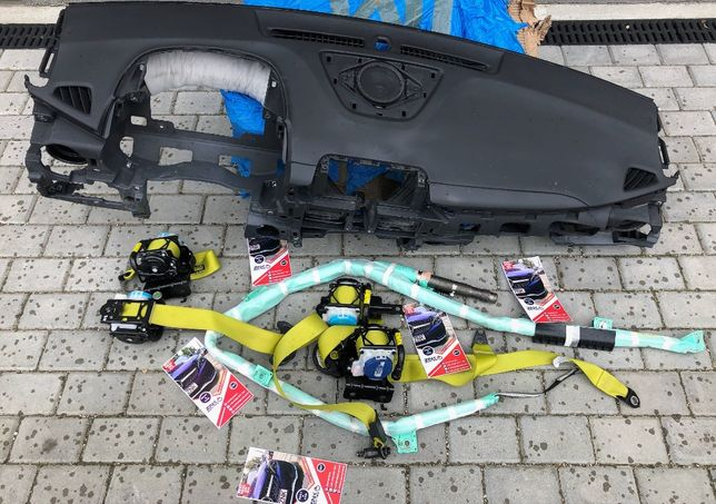 Hyundai Kona kit airbag volan pasager plansa bord centura fata spate