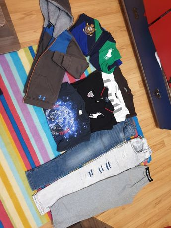 Ralph Lauren,  Under Armour, Zara, Mexx, O'neill,  Diesel за ръст 152