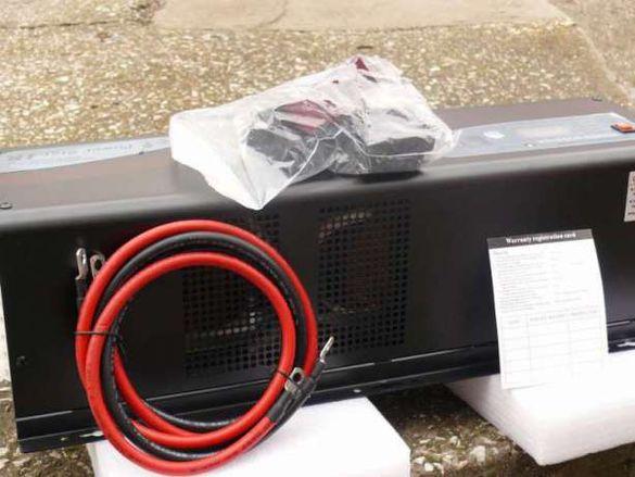 Инвертор с пълна синусоида ОРИГИНАЛ 48V 6000W / 6KW 46.5 кг