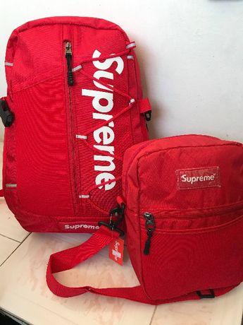 Нова раница Supreme + чанта Supreme