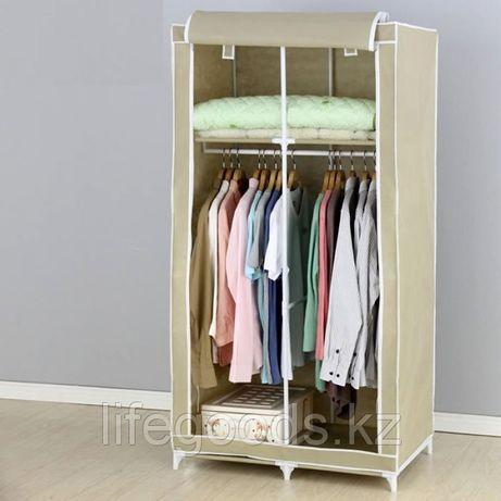 Тканевый гардеробный шкаф с вешалкой 85x50x165 см YOULITE YLT-0702