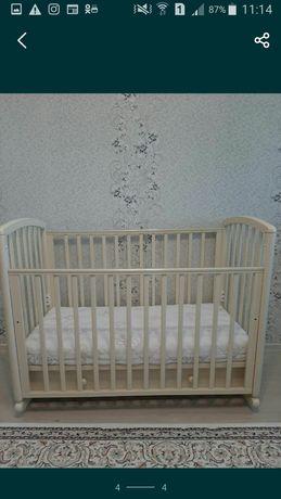 Детская кровать манеж+ бортики