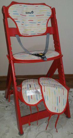 Scaun de masa copii Safety 1st rosu ca nou