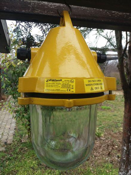 Взривозащитени лампи Електросвит