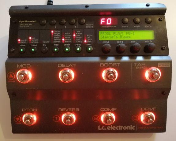 Efect pentru chitară T.C Electronic Nova Sistem