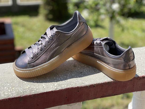Adidasi Puma Basket , noi , originali , marimea 37