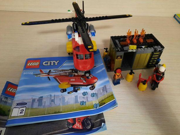 Vand lego City Unitatea de interventie de pompieri