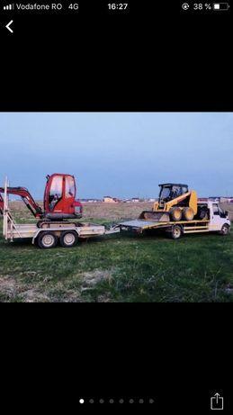 Miniexcavator , bobcat , buldoexcavator, basculante , cilindru compact