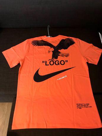 Nike/Off-White Special Project тениска сезон 2019 Salmon Black