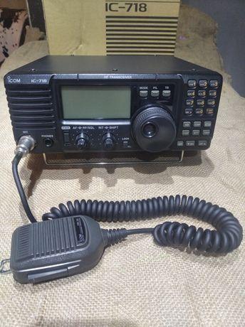 Радиостанция трансивер IC 718