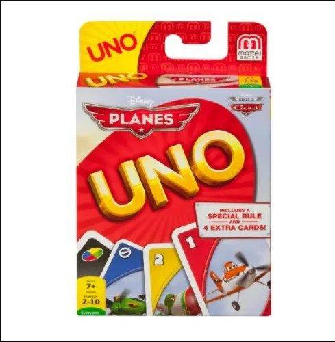-23% Nou Joc de carti copii Avioane,,Uno Planes dela Mattel,TrimitGrat Bucuresti - imagine 1
