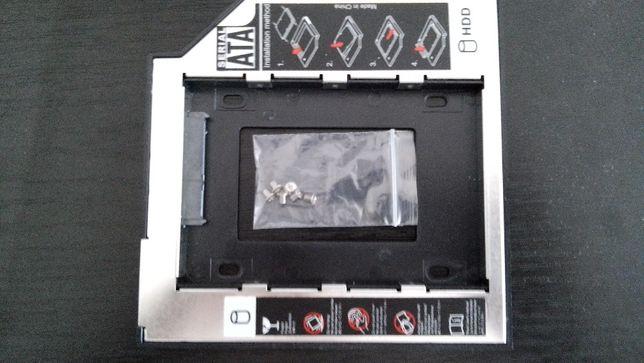 Caddy HDD SSD slim si normal SATA pt unitate optica DVD la laptop