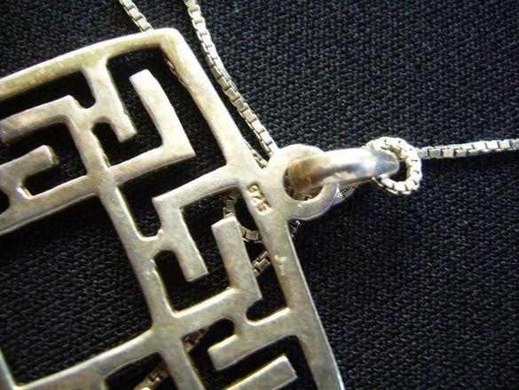 Италиански медальон - сребро