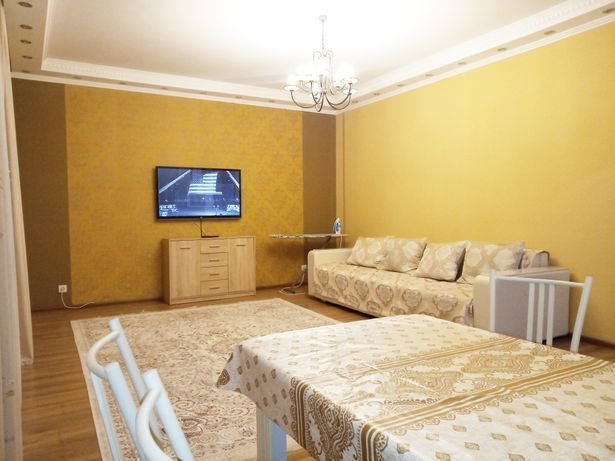 Посуточно 2 комнатная квартира в аренда в Левый берег, ЖК Нурсая