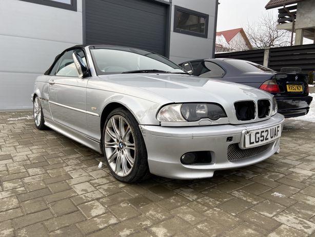 Dezmembrez BMW 325ci E46 CABRIO ///M Tech 2,Recaro Incalzit