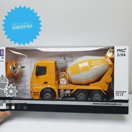 Радиоуправляемые машины Бетономешалка Камаз игрушки