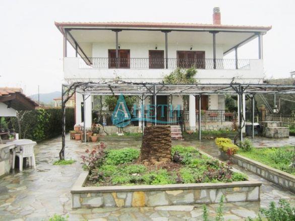 Великолепна къща с удивителен изглед във Врасна, Гърция, до плажа