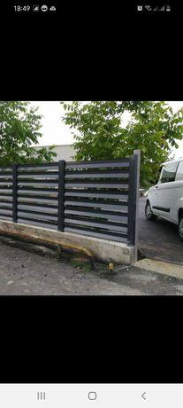 Vindem profile pentru gard tip jaluzea  0.5mm pina la  1mm