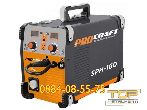 Телоподаващ апарат с Електрожен PROCRAFT Industrial SPH-160