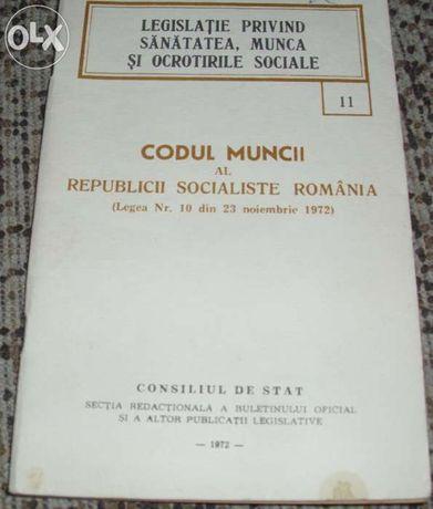 Codul muncii al Republicii Socialiste Romania