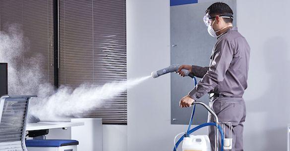 Дезинфекция срещу вирус и премахване на домашни и складови вредители.