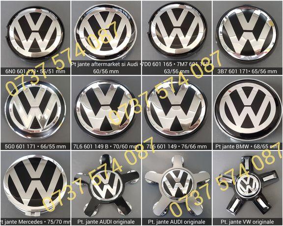 Capace jante aliaj roti VW Passat Golf Touareg Tiguan T-Roc Jetta etc