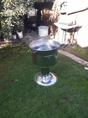 cristelnita pentru botez 80 litri din inox NOU