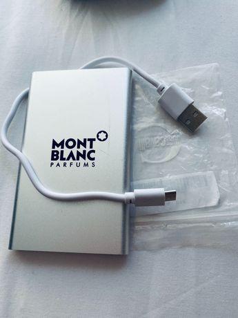 Подвижна батерия за телефон Зарядно Mont Blanc