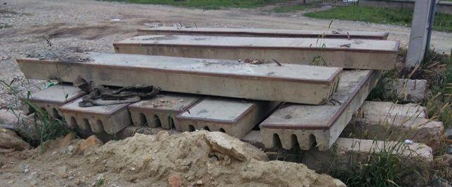 Vand placi de beton pentru pod
