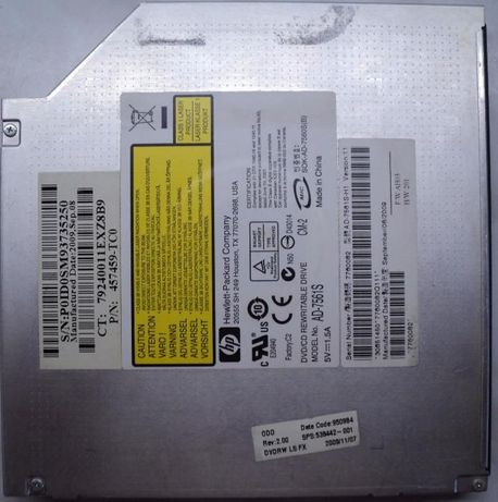Unitate Optica DVD-RW Sata Model: AD-7561S