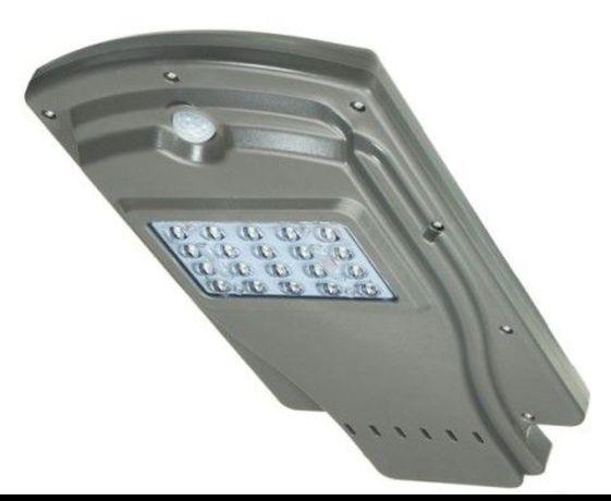 Соларна лампа LED 20W, улична лампа Соларна Сензор движение