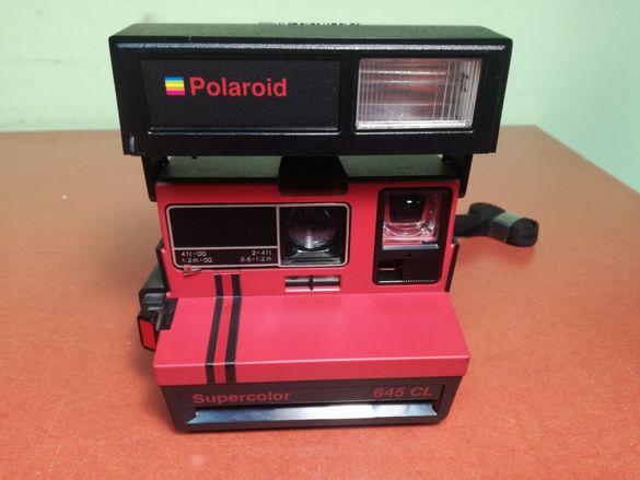 Polaroid 645 cl supercolor фотоапарат моментен
