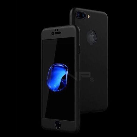 Husa / carcasa + folie 360 gama Iphone 5 6 7 8 plus X Xs Max 11 PRO