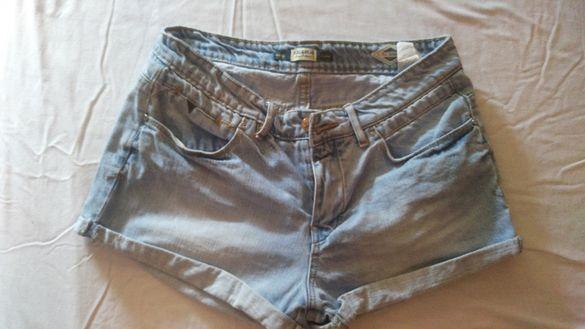 дамски дънкови къси панталони
