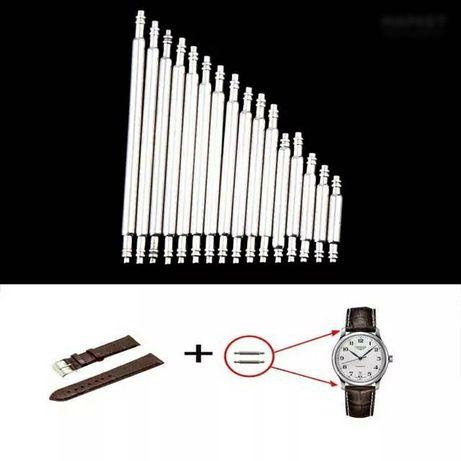 Часы ушки, шпильки штифты заклепки для ремонта часов замена ремешка