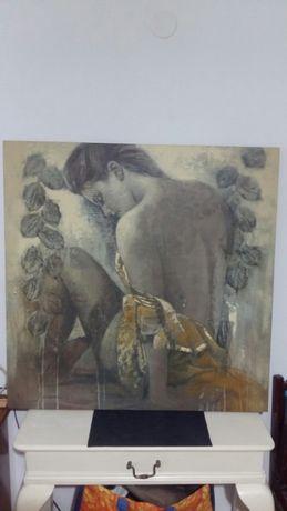 Tablou pictură 90x90cm