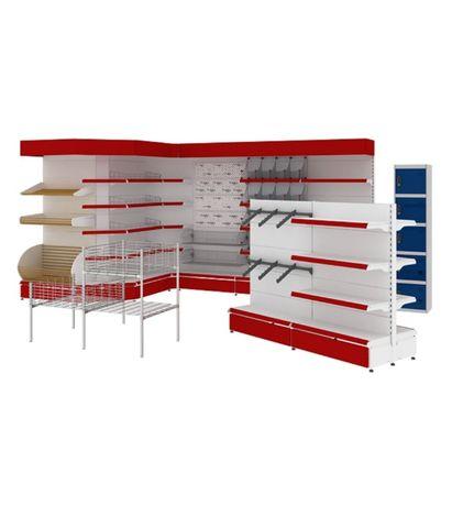 Торговые оборудование: стеллажи, витрины, холодильные витрины