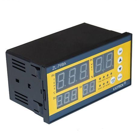 Терморегулятор LILYTECH ZL-7918А (темп + влажность + переворот XM-18