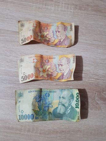 2 Bancnote 5000 lei 1998 1 bancnota 10000 lei 1998
