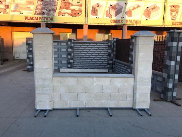 Boltari beton Gard Tip I. Pret promotional pavele-garduri.ro