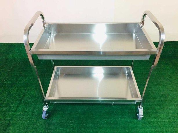 Стеллажи, столы, полки для стола, нейтральное оборудование в наличии