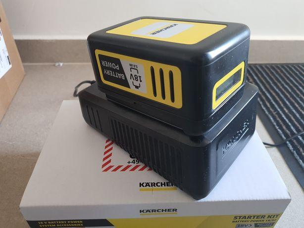 Kit Acumulator Karcher 18 V, 5 Ah + încărcător noua sigilata