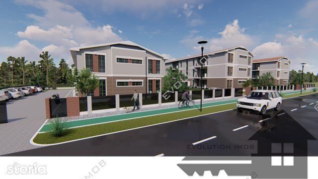 Teren AC si Proiect 8 apartamente