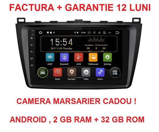 Navigatie Gps Mazda 6 ( 2008 - 2014 ) , Android , Noua Garantie Waze