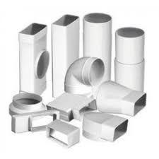 Пластиковые воздуховоды Вентс для вентиляции. Круглые и прямоугольные