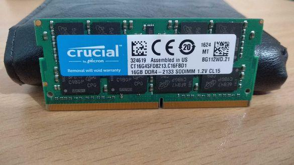 Рам памет • Crucial 16GB DDR4 2133Mhz CT16G4SFD8213