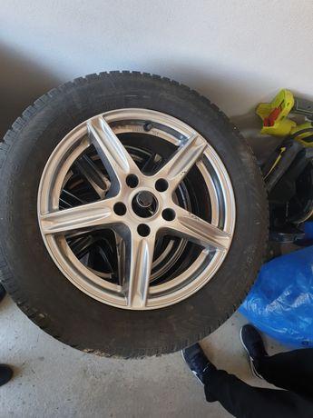 Jante Chevrolet Cruze/Open Astra/Zafira 5x115 cu cauciucuri 205/60 R1