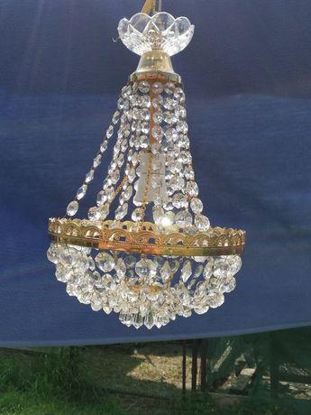 Vând candelabru cristal bohemia