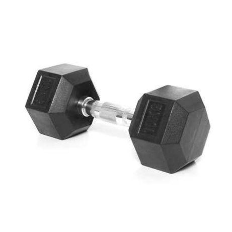 Комплект Дъмбели 2 бр х 10 кг ( 20 кг ) , Гири Hex , Фитнес Оборудване