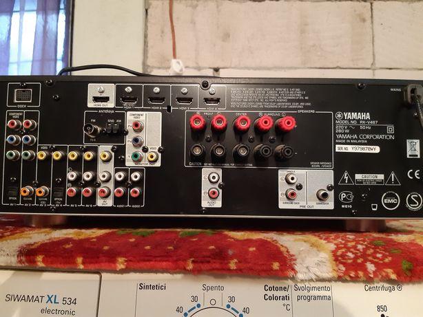 Amplifactor IAMAHA cu hdmi+BOXE